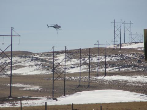 Constructing the Montana-Alberta Tie Line
