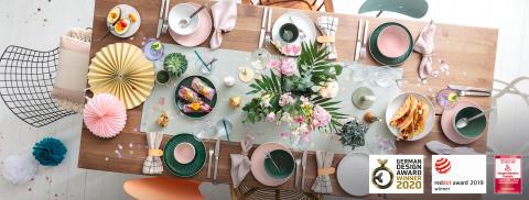 Une pluie de récompenses pour les Arts de la Table de Villeroy & Boch : la collection tendance « it's my match » et les vases Collier ont reçu plusieurs prix