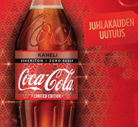 Eksoottisen tuttu kausimaku Coca-Cola Zero Sugar Kaneli