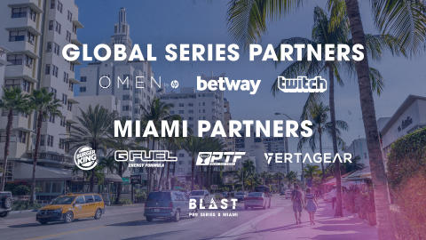 Global brands partner up with BLAST Pro Series