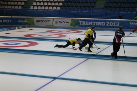 Sverige vann curlingfinalen i Universiaden