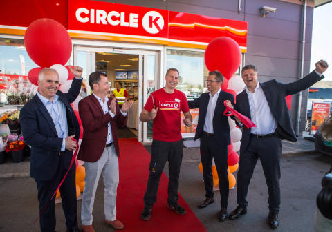 Åpning Circle K Økern 6