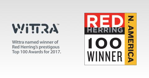 Wittra Sweden chosen as a 2017 Red Herring Top 100 North America Winner
