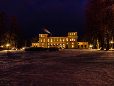 Vinter på Rånäs Slott
