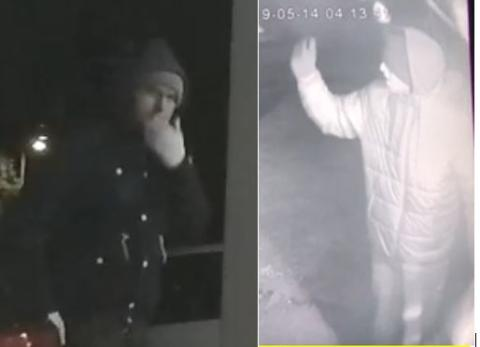 Do you recognise these men? We want to speak to them in connection with vehicle crime in Chandlers Ford