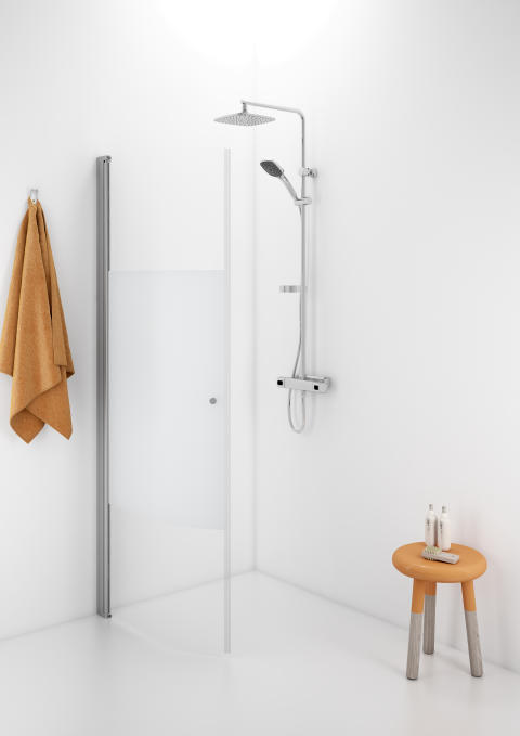 IDO Showerama 10-41 kaareva suihkuseinä