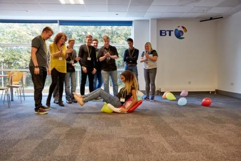 Free BT work placements to help youngsters get 'work ready' at BT Headquarters in London
