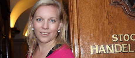 """Månadens stockholmare Maria Rankka: """"Stockholm ska bli tillväxtcentrum"""""""