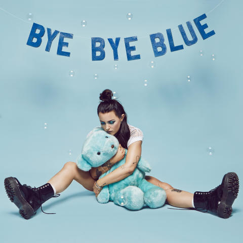 Bye Bye Blue - artwork