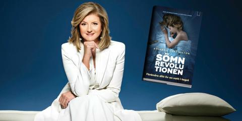 Global sömnbristkris synas i bok av Arianna Huffington