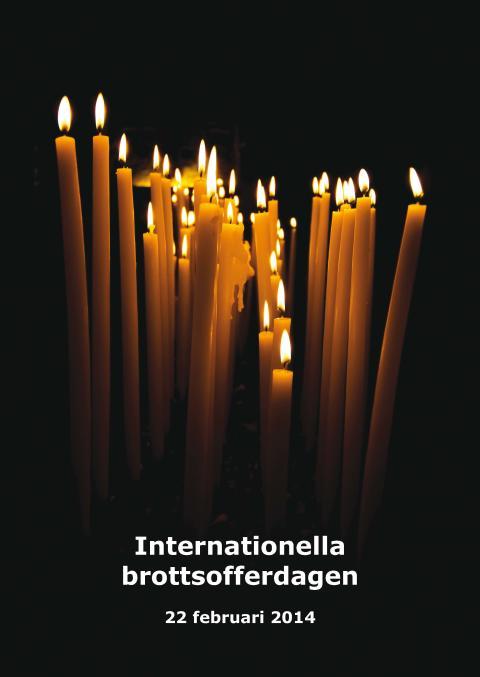 Brottsofferjouren uppmärksammar Internationella Brottsofferdagen
