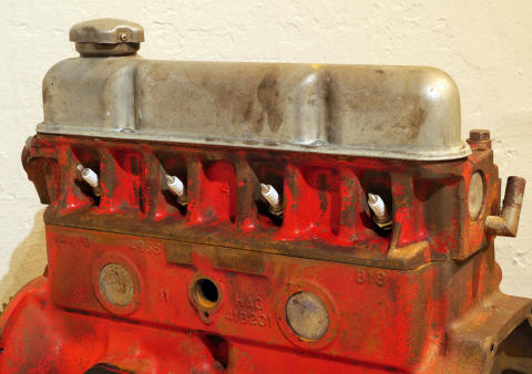 B18, motor från Volvo Amazon