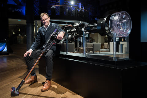 Jake Dyson, Chief Engineer, at Dyson launch event in Paris, 6 March 2018 - 1