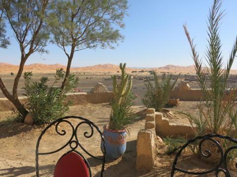 Desert View from Merzouga