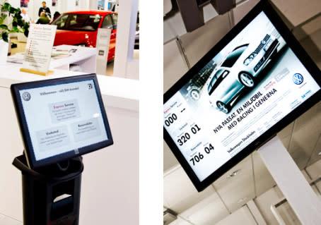 Volkswagen använder nu kösystemet Q-channel