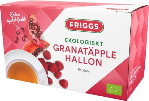 Ekologiskt te Granatäpple & Hallon