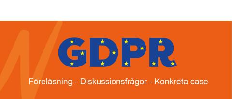 Inbjudan - Lär dig mer om GDPR