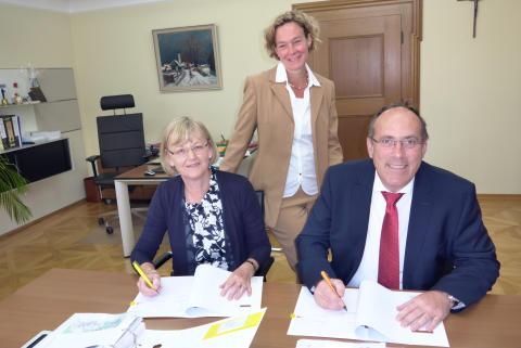 Hohenbrunn und das Bayernwerk verlängern Konzessionsvertrag um weitere 20 Jahre