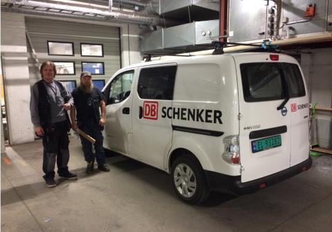 El-varebil på Alnabru