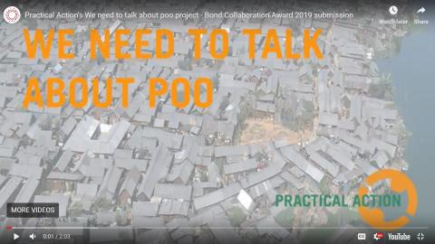 """""""We need to talk about poo"""" shortlisted for international award"""