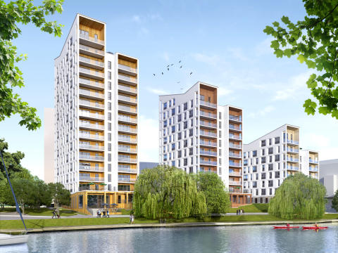ÅWL ritar 100 lägenheter åt Skanska vid Bällstaviken