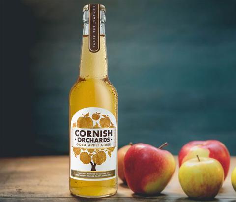 Prisbelönad brittisk cider lanseras i Sverige – Cornish Orchards Gold Apple Cider