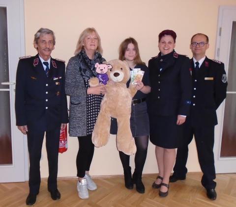 Jugendfeuerwehren des Kreisfeuerwehrverbandes Delitzsch engagieren sich für Bärenherz