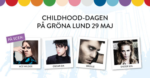 H.M Drottning Silvia firar Childhood-dagen på Gröna Lund