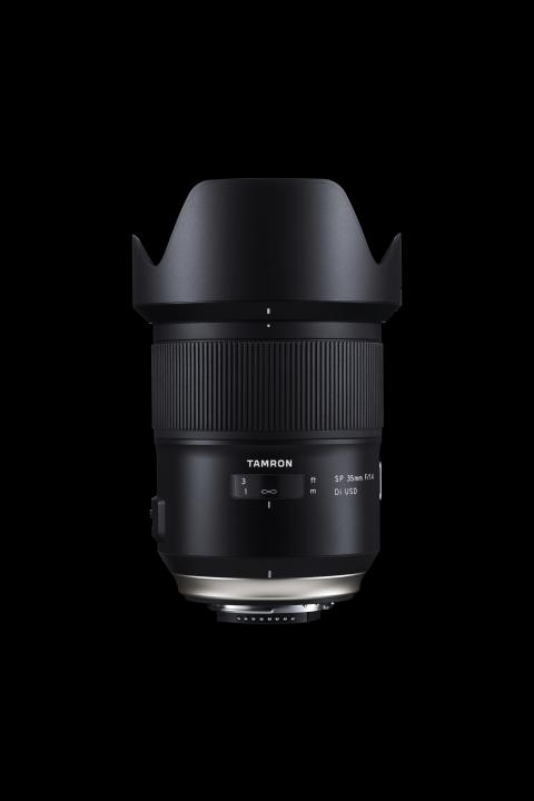 Tamron SP 35mm f1.4 Di USD_mainvisual_with hood_190418