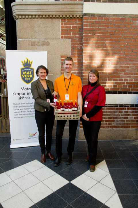 Vinnarna Matverk 2012