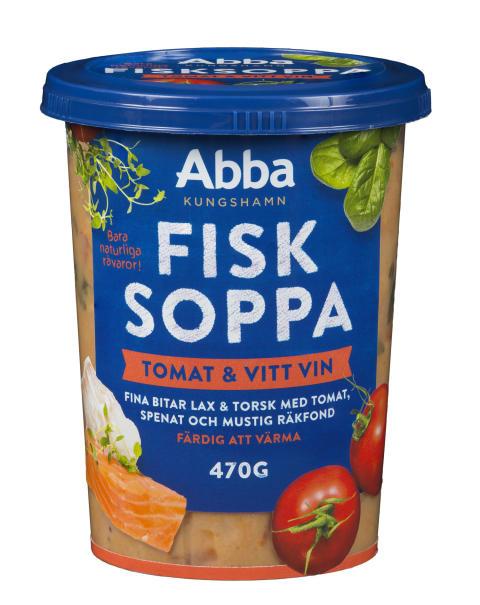 Abba Fisksoppa Tomat & vitt vin