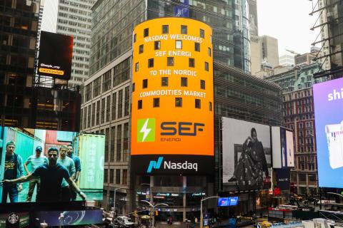 SEF Energi_NASDAQ råvarebørs