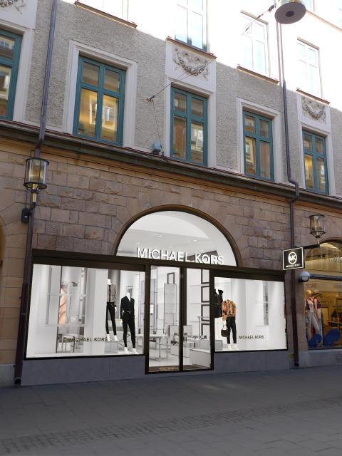 Svensk-italienskt samarbete bakom Michael Kors flagship store