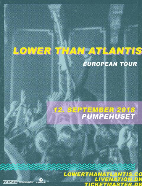 Lower Than Atlantis bringer melodisk og hård rock til Pumpehuset