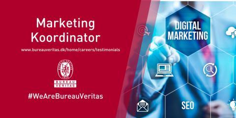 Marketing koordinator søges til Bureau Veritas i Fredericia