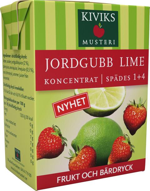 Ny smak bland våra frukt- & bärdryckskoncentrat