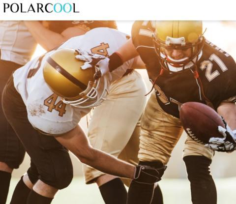PolarCool AB (publ) presenterar rapport från studie – Medicinsk kylning av amerikansk fotbollsspelare