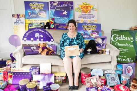 Gloucestershire woman reveals 5,000 item treasure trove of Cadbury memorabilia