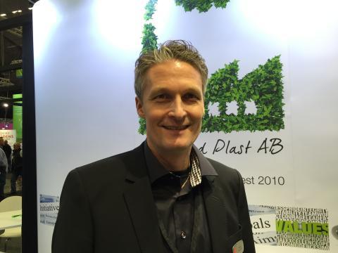 Fristad Plast har ställt ut på Elmia Subcontractor sedan mitten av 1990-talet och Niclas Forsström säger att de hinner med att träffa ett 50-tal kunder under mässans fyra dagar.