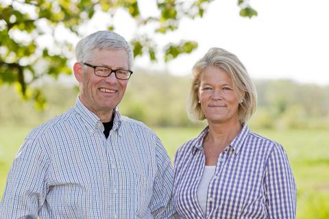 Lars Elofson och AnnaKarin Hamilton