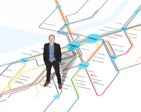 Från exjobbare till VD  -Thomas Ottosson tar över rodret på Consat Telematics