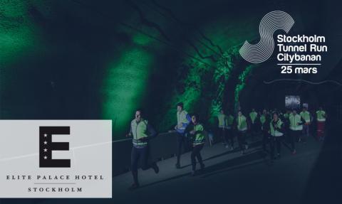 Elite Hotels of Sweden AB startar samarbete med Stockholm Tunnel Run Citybanan 2017