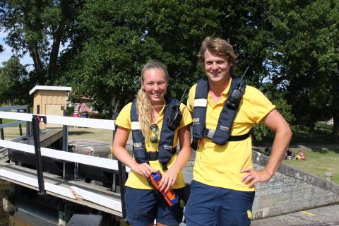 Pressmeddelande Göta kanal utbildar över 100 slussvärdar