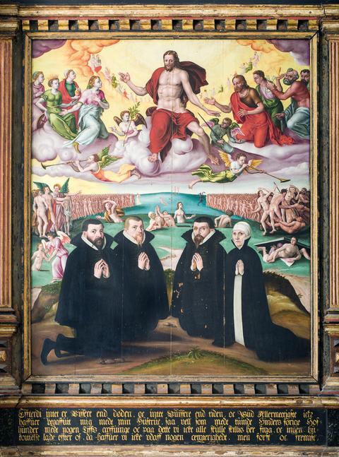 Billede 2: Epitafium fra Nyborg Vor Frue Kirke