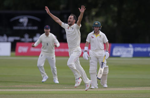 Gregory strikes twice but England Lions toil for wickets against Australian XI