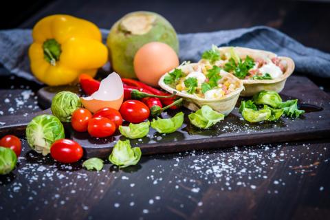 Taco med falukorv och kålrot