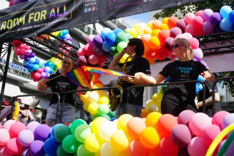 Pride House flyttar till Nordic Choice Hotels och Clarion Hotel Stockholm