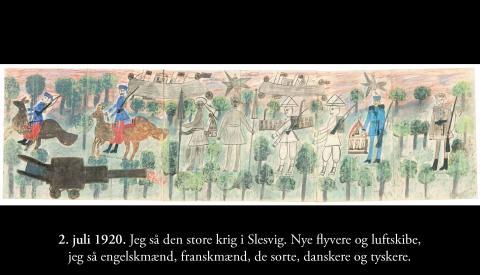 """Maria Gørrigsens syner og åbenbaringer - """"Sønderjysk weekend"""" på Frilandsmuseet"""