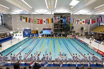 Välkommen till pressträff inför World Cup i simning