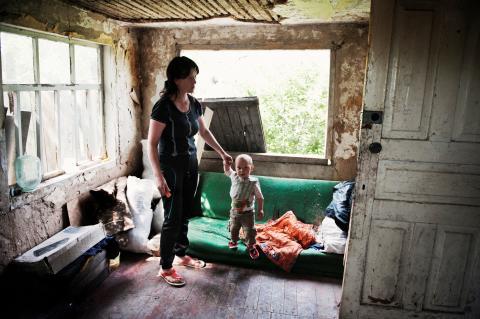 Canon stödjer SOS Barnbyars arbete i Ukraina